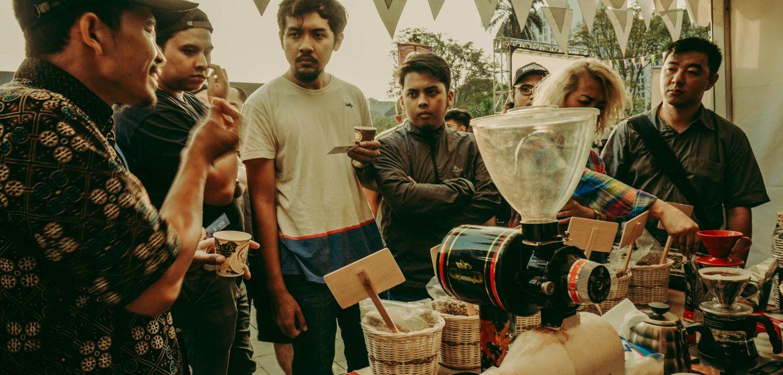sosialiasi kopi bandung agro jabar