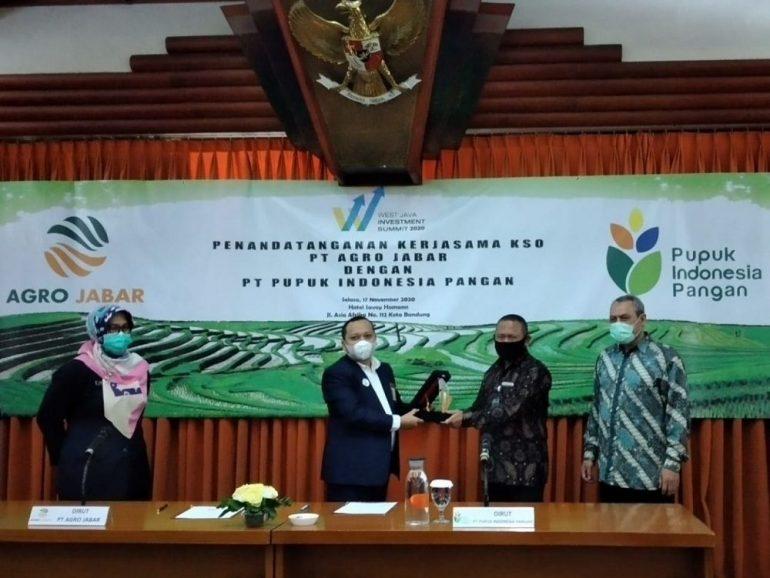 PT Agro Jabar Targetkan Miliki Cadangan Pangan Mencapai 40.000 Ton Beras per Tahun