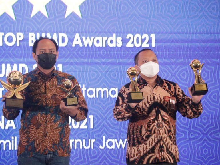 Agro Jabar Raih 4 Penghargaan TOP BUMD Award 2021!